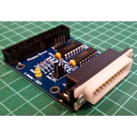 Amiga Floppy Drive Adapter for external connection - assembled