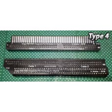 Amiga 500 / 500+ Plus Expansion Port Extender (Type 4) - flexible cables, 2-part